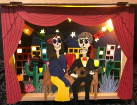 Day of the Dead Light Box