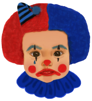 Clown with Poopy Diaper