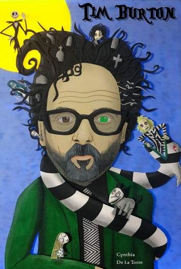 Tim Burton Cover